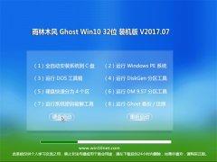 大红鹰dhy0088Ghost Win10 X32位 增强装机版v2017.07月(免激活)