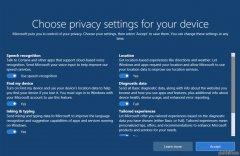 大红鹰dhy0088windows10RS4快速预览版17115更新:加强隐私设置