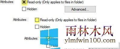 Win10系统2004版本电脑怎么隐藏或只读文件/文件夹的方法